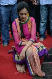 Lakshmi Pranathi at NTR 90th Jayanthi Celebrations @ NTR Ghat Photos