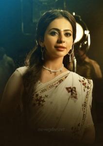 Actress Rakul Preet Singh in NTR Kathanayakudu Movie Images HD