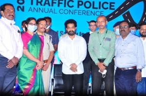 NTR Visited Cyberabad Traffic Police First Annual Conference Event