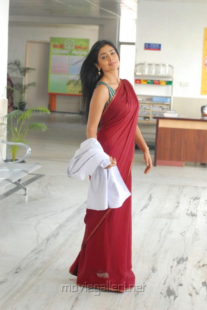 Shriya Saran in Half Saree Stills