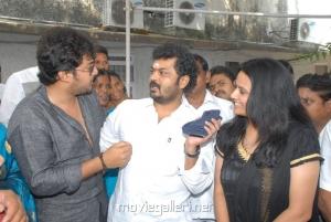 Tanish, Surya Kiran, Kalyani at Nuvvu Sarigama Nenu Padanisa Movie Opening Stills