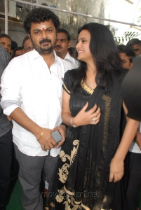 Surya Kiran, Kalyani at Nuvvu Sarigama Nenu Padanisa Movie Opening Stills