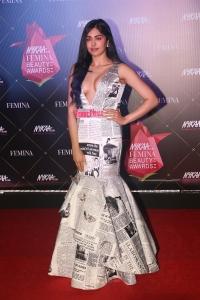 Actress Adah Sharma @ Nykaa Femina Beauty Awards 2019 Red Carpet Stills