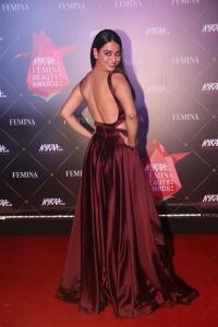 Actress Soundarya Sharma @ Nykaa Femina Beauty Awards 2019 Red Carpet Stills