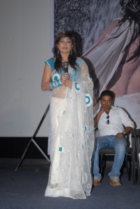 Actress Ramya Sri at O Malli Telugu Movie Logo Launch Photos