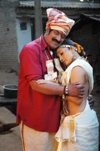 Raghu Babu, Ramya Sri in O Malli Movie New Stills