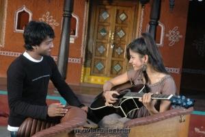 Ajay, Aparna Bajpai @ O Manasa Movie Stills