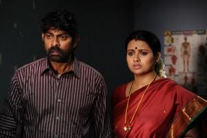 Jagapathi Babu, Kalyani in O Manishi Katha Telugu Movie Stills