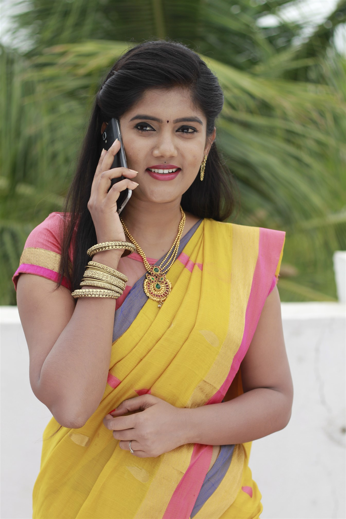 Actress Poornisha in Obama Ungalukkaaga Movie Stills