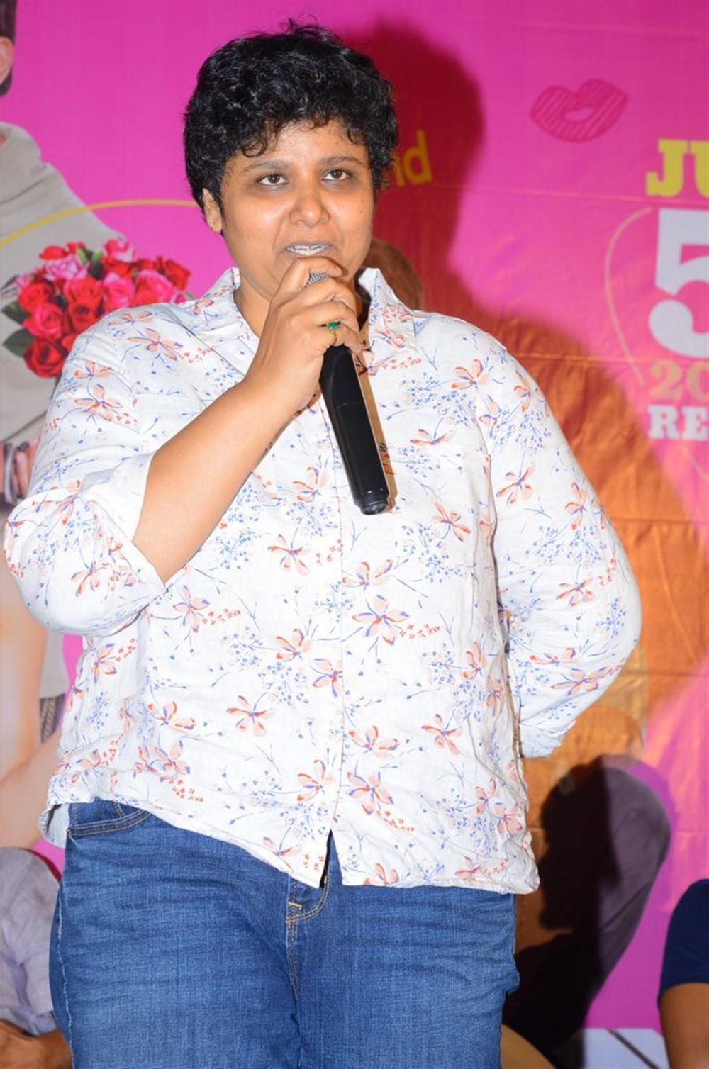 Director BV Nandini Reddy @ Oh Baby Movie Press Meet Stills