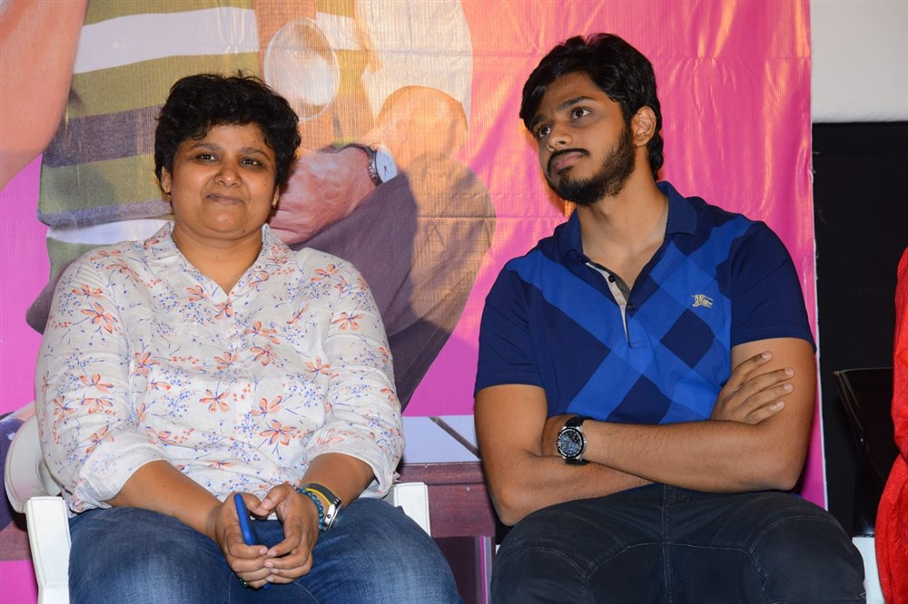 BV Nandini Reddy, Teja Sajja @ Oh Baby Movie Press Meet Stills