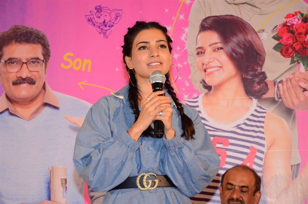 Samantha @ Oh Baby Movie Press Meet Stills