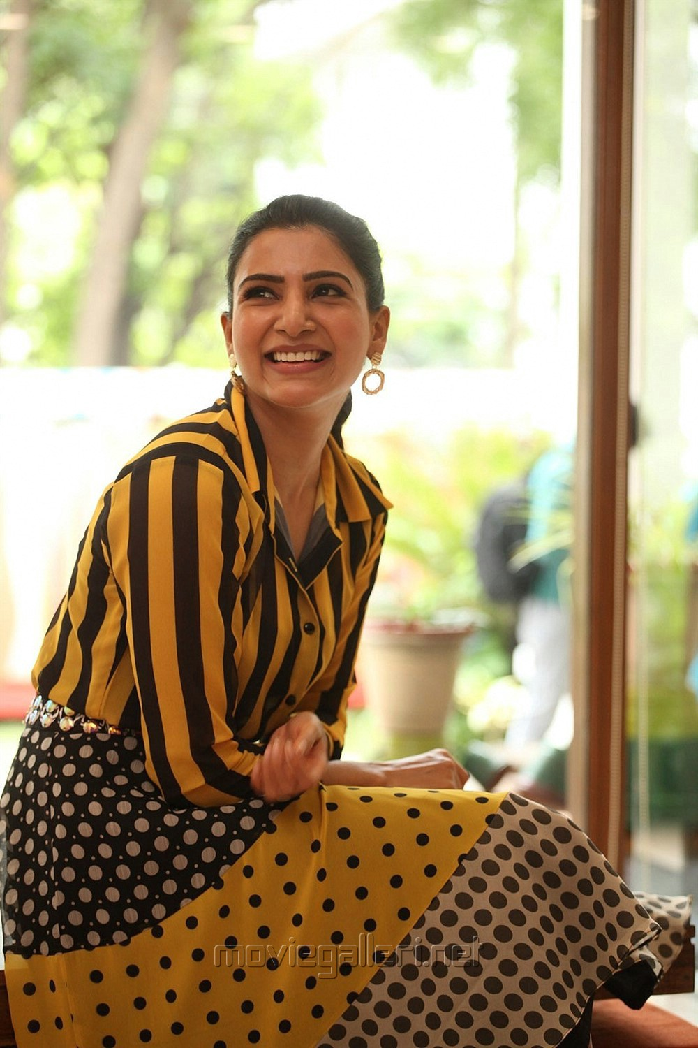Oh Baby Movie Actress Samantha Akkineni Interview Stills