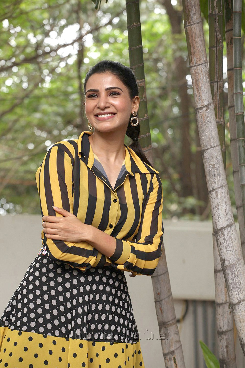 Oh Baby Actress Samantha Akkineni Interview Stills