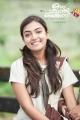 Actress Nazriya Nazim in Ohm Shanthi Oshaana Movie Posters