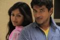 Sravan, Monal Gajjar in Oka College Love Story Latest Stills