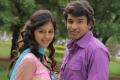 Sravan, Monal Gajjar in Oka College Love Story Movie Stills