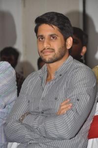 Actor Naga Chaitanya @ Oka Laila Kosam Movie Success Meet Stills