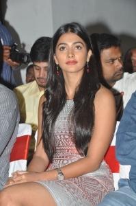 Actress Pooja Hegde @ Oka Laila Kosam Movie Success Meet Stills