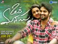 Niharika Konidela, Naga Shourya in Oka Manasu Movie Release Posters