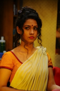 Actress Pooja Umashankar in Oka Rathrilo Iddaru Ammayilu Movie Stills