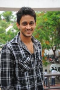 Actor Manoj Nandam at Oka Romantic Crime Katha Success Meet Stills