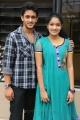 Manoj Nandam, Gayathri at Oka Romantic Crime Katha Success Meet Stills