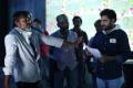 Chota K Naidu, Rajasimha Tadinada @ Okka Ammayi Thappa Working Stills