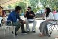 Sundeep, Rajasimha Tadinada, Nithya Menon @ Okka Ammayi Thappa Working Stills