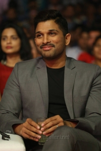 Actor Allu Arjun @ Okka Kshanam Pre Release Function Stills
