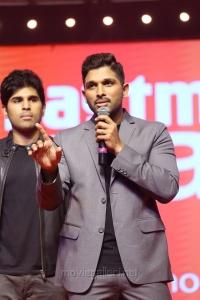 Allu Sirish, Allu Arjun @ Okka Kshanam Pre Release Function Stills