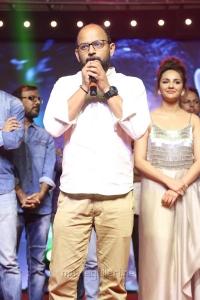 Director VI Anand @ Okka Kshanam Pre Release Function Stills