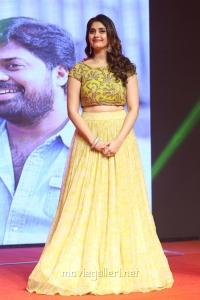 Actress Surbhi @ Okka Kshanam Pre Release Function Stills