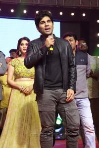 Actor Allu Sirish @ Okka Kshanam Pre Release Function Stills