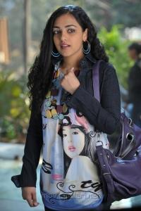 Actress Nithya Menon in Okkadine Movie New Stills