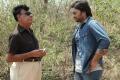 Nara Rohit, CV Reddy at Okkadine Movie Working Stills