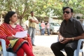 Nithya Menon, CV Reddy at Okkadine Movie On Location Photos