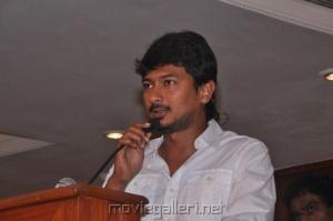 Udhayanidhi Stalin @ Oru Kal Oru Kannadi Press Meet Stills