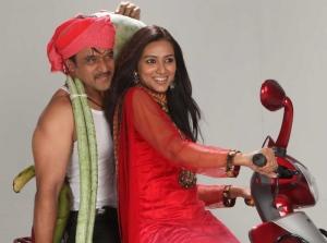 Arjun Pallavi Subhash @ Om Movie Stills