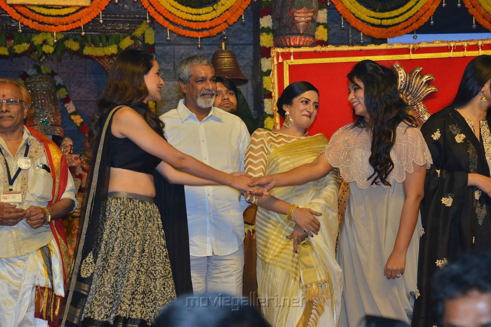 Pragya, S Gopal Reddy, Vimala Raman, Ashmitha @ Om Namo Venkatesaya Audio Release Function Photos