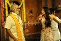 K Raghavendra Rao, Pragya Jaiswal @ Om Namo Venkatesaya Movie Working Stills
