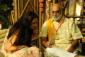 Pragya Jaiswal, K Raghavendra Rao @ Om Namo Venkatesaya Movie Working Stills