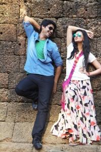 Srikanth, Neelam @ Om Shanti Om Movie Shooting Spot Stills