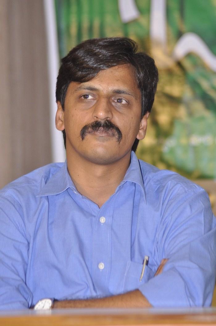 Telugu Director Kranthi Madhav at Onamalu Movie Press Meet Stills