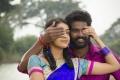 Nehaa, Vikram Jagadish in Ondikatta Movie Stills