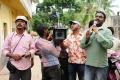 Cinematographer A.Venkatesh, Bhaskar at Ongole Githa Movie Working Stills