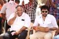 BVSN Prasad, Ram at Ongole Githa Movie Working Stills