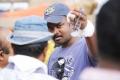 Telugu Director Bhaskar at Ongole Githa Movie Working Stills