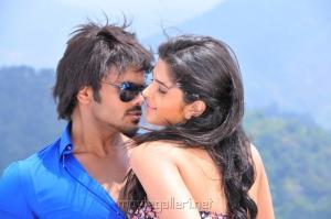 Manchu Manoj Kumar & Deeksha Seth in Oo Kodathara Ulikki Padathara Movie New Stills