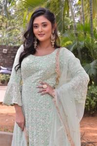 Actress Megha Chowdhury @ Oorantha Anukuntunnaru Movie Teaser Launch Stills